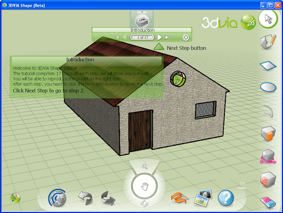 3dvia-shape 10 useful Free alternative to AutoCAD