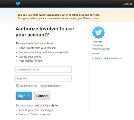 Add Twitter Tab to Facebook Fan Page 3