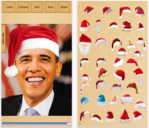 Add-Santa-Hats-App