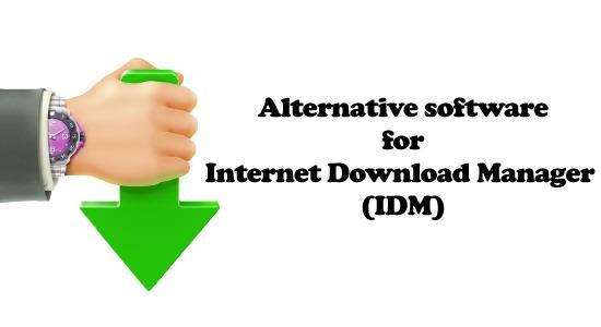 Alternative software for Internet Download Manager