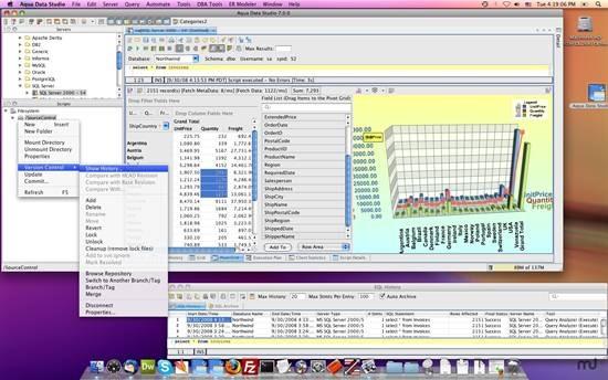 Aqua Data Studio - Database query analyzer and SQL editor