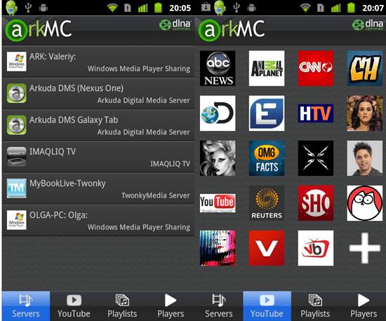 ArkMC DLNA UPnP Media Centre