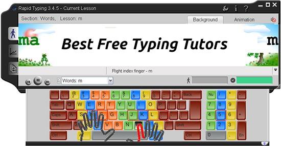 7 Best Free Typing Tutors