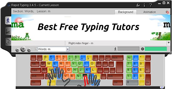 7 Best Free Typing Tutors