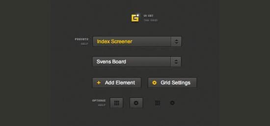 CSS Grid UI Set Top 12 Free CSS UI Toolkits