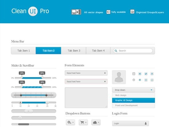 Clean UI Pro by Liam Wolf