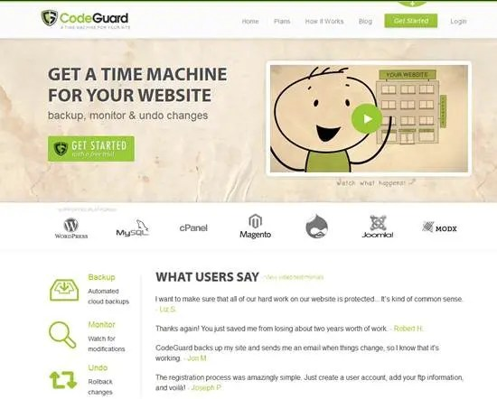CodeGuard - Top 5 Website Monitoring Apps