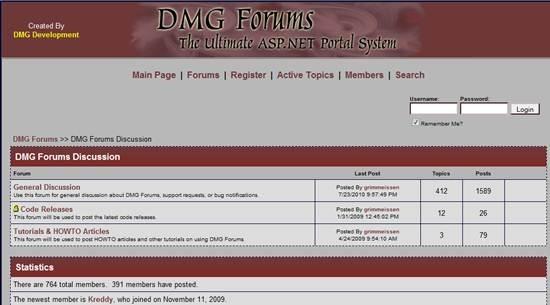 DMG Forums