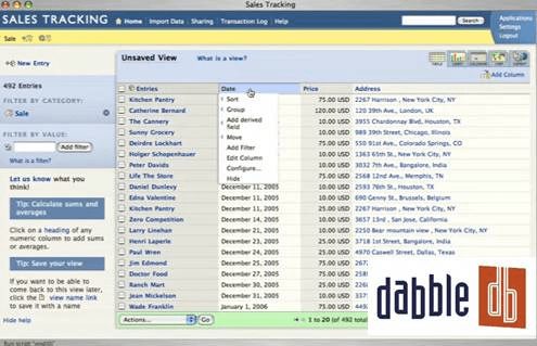 8 useful Online Database builder/creators – Gadget Explorer