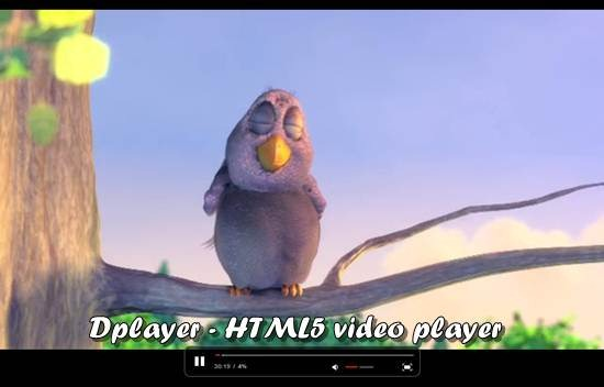 Dplayer - HTML5 video player