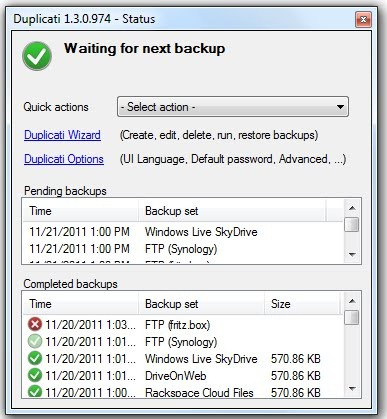 Duplicati Free Backup software for Windows, Mac, and Linux - Best Of
