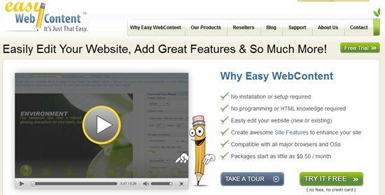Easywebcontent