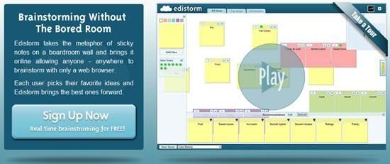 Edistorm - brainstorming apps