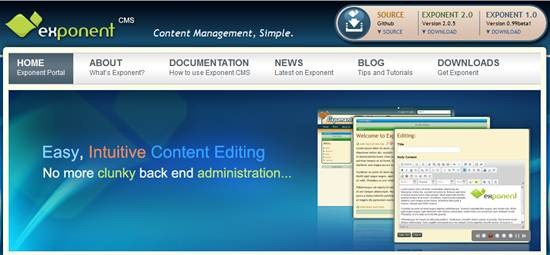 Exponent content management framework : 32 (Really) useful and Best