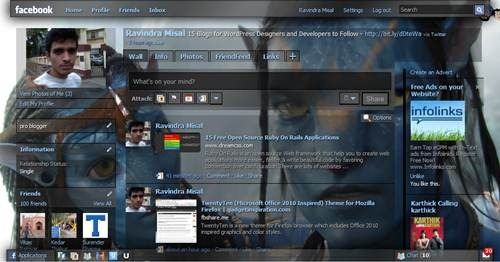 Facebook Theme for AVATAR movie