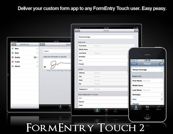 FormEntry Touch 2- Native form based application for any