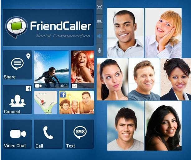 FriendCaller - Free Group Video Chat, VoIP calls for Android