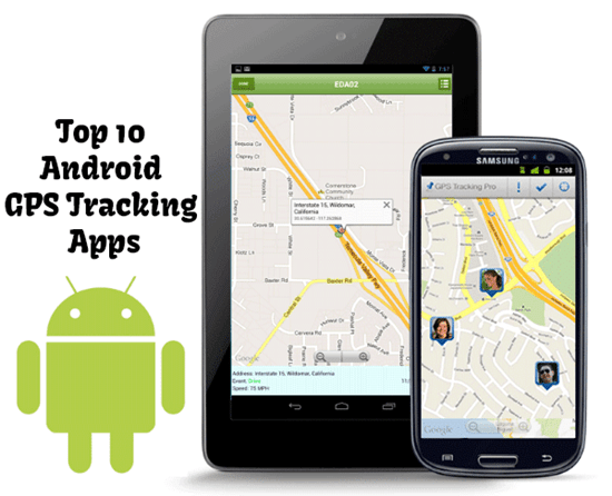 Top 10 Android GPS Tracking Apps