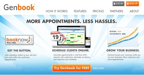 GenBook Online Appointment Scheduling