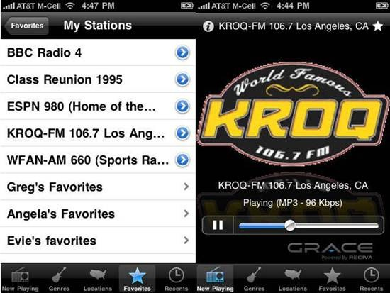 Grace Digital Radio Apps