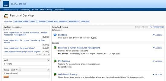 ILIAS e-Learning