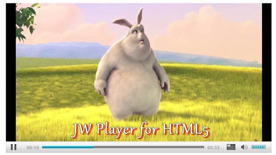 JW Player for HTML5
