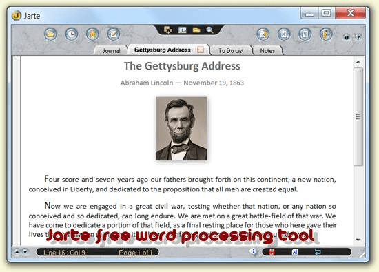 Jarte free and open source word processor - Best Of