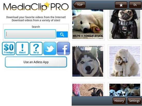 Media Clip PRO Video Downloader