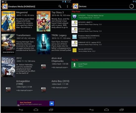 Media House UPnP- DLNA Browser app