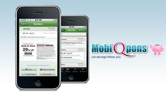 MobiQpons 18 free Mobile Shopping Apps for smartphone