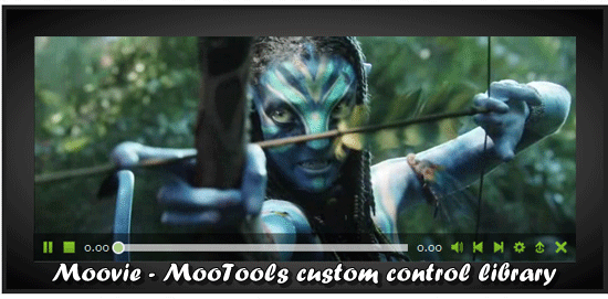 Moovie - MooTools HTML 5 video player