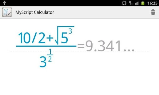 MyScript Calculator (2) Get Handwriting Calculator for android