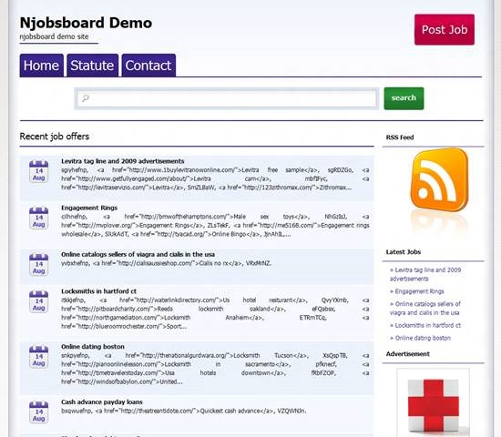 Njobsboard job board theme for WordPress