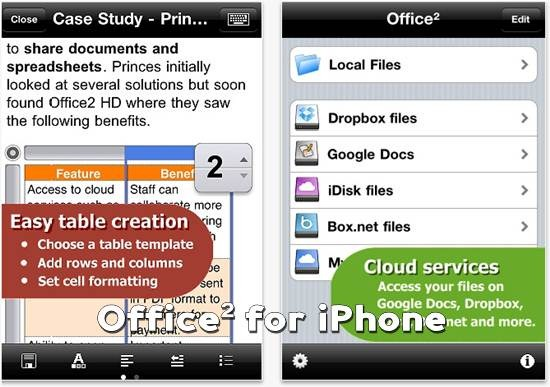Office square for iPhone