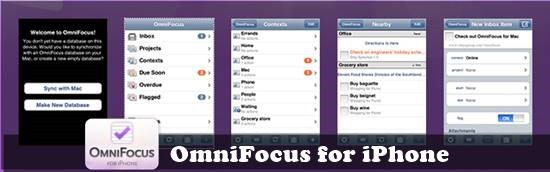 OmniFocus mobile to-do list : 20 most useful Mobile To-Do List manager for iPhone