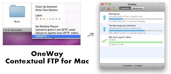 OneWay FTP Clients and File manager : 15 useful FTP client, file manager and File sharing tool