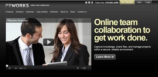 PBworks Online Collaboration Workspace Tools