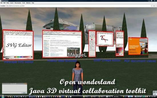 Open wonderland - Java 3D virtual collaboration toolkit