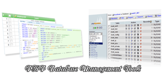 PHP Database Management tools