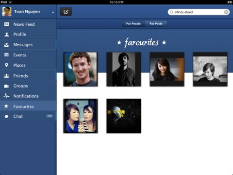 Pica Facebook Client Facebook Client for iPad - Pica