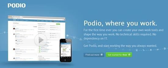 Podio Online work platform