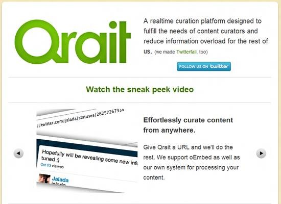 Qrait 8 Best Content Curation Tools for personal use