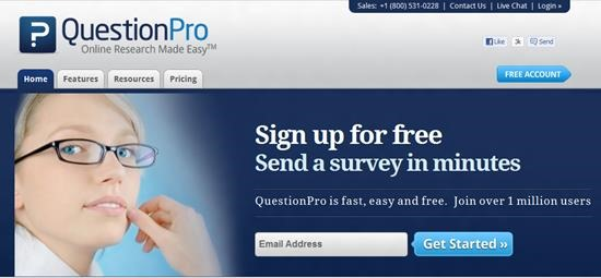 QuestionPro Survey software : Top 15 online survey software and questionnaire