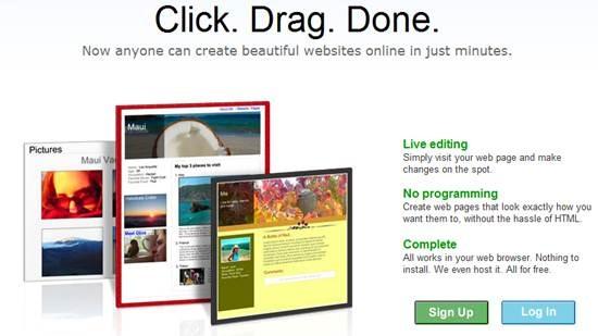 Roxer website creator