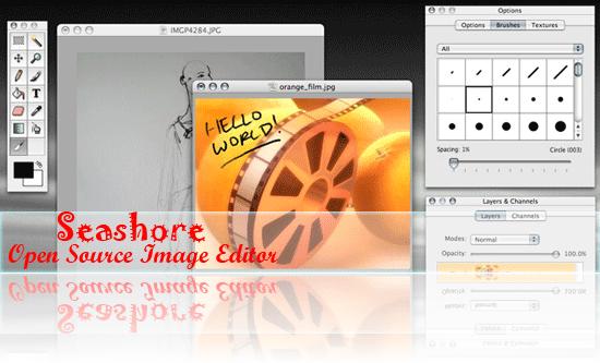 Seashore open source image editor for Mac OS X's