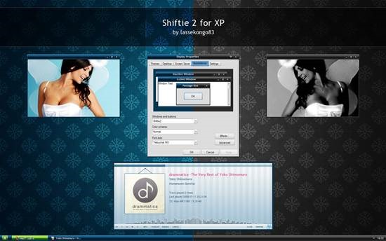 Shiftie_2_for_XP_by_lassekongo83 55 most Beautiful free Window XP Themes and Visual Styles