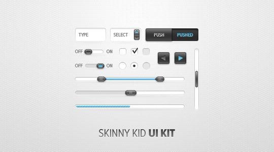 Skinny Kid UI Kit