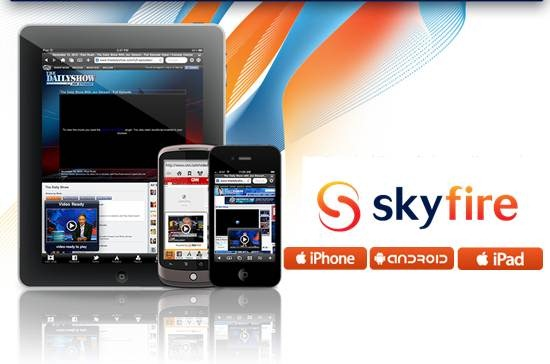 Skyfire mobile browser