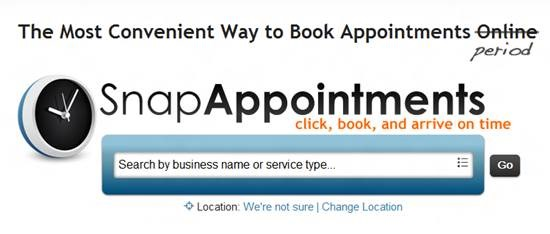 SnapAppointments Top 16 online appointment scheduling software