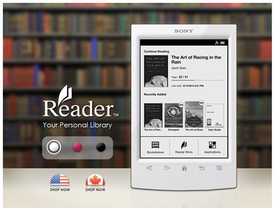 Sony Reader Wi-Fi - kindle alternative